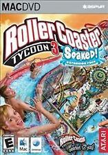 RollerCoaster Tycoon 3: Soaked! (Mac OS X) - COMPLETE
