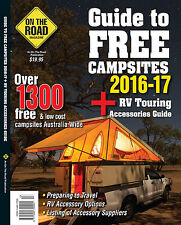 2016-2017 Guide To Free Campsites New Edition Caravan Camping RV Book Travel