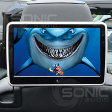 Plug-and-Play Car HD Headrest DVD Player USB/SD Touch-Screen Land/Range Rover