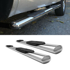 """07-16 Silverado/Sierra Double/Extended Cab New Body 4"""" S/S Side Step Nerf Bars"""