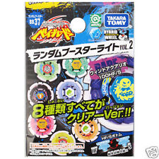 TAKARA TOMY BEYBLADE BB-37 Random Booster Light Vol 2 Storm Wind Aquario 100HF/S