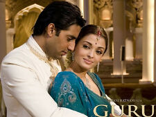 Guru - Abhishek Bachchan, Aishwarya Rai - bollywood hindi movie dvd