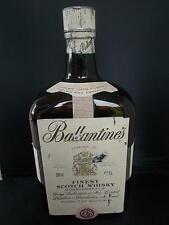 EMPTY Huge 13 Vintage BALLANTINES Scotch Whisky Bottle 300cl Whiskey Breweriana