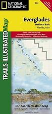 National Geographic Trails Illustrated Florida Everglades National Park Map 243