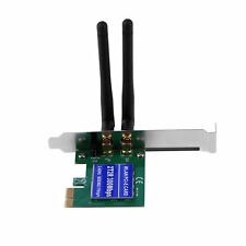 2 Antenna PCI 300Mbps 300M 802.11b/g/n Wireless WiFi Card Adapter for Desktop AP