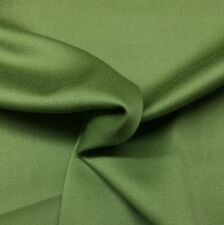 "BEACON HILL WOOL SATEEN LEAF GREEN EXCLUSIVE DESIGNER FABRIC BY THE YARD 56""W"