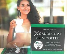 PureGano Ganoderma Slim Coffee Weight Loss 100% Arabica Black Premium Coffee