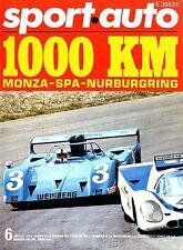 1971 SPORT AUTO MAGAZINE 6 NIKI LAUDA JACKIE STEWART TYRRELL FORD  DEUTSCH