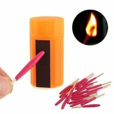 Survival Waterproof Windproof Matches Emergency Fire Starter kit For Camping