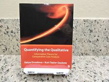 New Quantitying the Qualitative Information Theory for Comparative Case Analysis