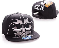STUNNING STAR WARS DARTH VADER CLOSE UP MASK SNAPBACK CAP HAT *BRAND NEW*