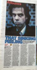 NICK CAVE The Boatman's Call 1997 UK ARTICLE / clipping  (MM)