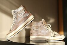 Diesel Exposure Women Brown/Pink Glitz Shoes Size UK 3 EU 36