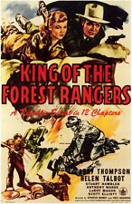 King of the Forest Rangers - Cliffhanger Movie Serial DVD  Larry Thompson