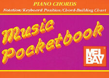 MEL BAY PIANO CHORDS MUSIC POCKET BOOK PIANO CHORD MUSIC