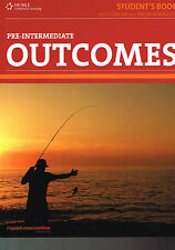 CENGAGE Learning OUTCOMES Pre-Intermediate STUDENT'S BOOK with Online Access NEW