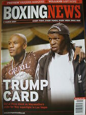 BOXING NEWS 2 MARCH 2007 FLOYD MAYWEATHER v OSCAR DE LA HOYA LATEST