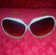 RHINESTONE SUNGLASSES, ACRYLIC GEMS,WOMENS DIAMANTE EYEWEAR,BLING CRYSTALS,PARTY