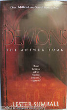 DEMONS:THE ANSWER BOOK by Lester Sumrall / Brand New Paperback
