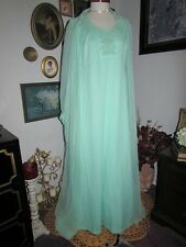NWT vtg Current Dresses Green Long Maxi Dress Gown Mother of Bride 22 1/2