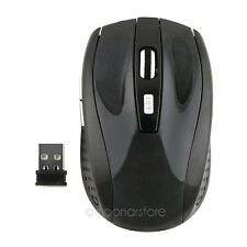 Ratón óptico Inalámbrico Receptor USB Wireless Mouse Portátil PC MAC Win 7/XP P2