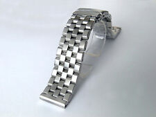 22mm SUPER Engineer Type II Stainless Steel Straight End Metal Watch Bracelet