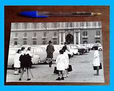 FOTOGRAFIA PHOTO VINTAGE B/N BLACK AND WHITE - NAPOLI SET A PIAZZA PLEBISCITO