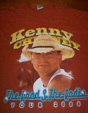 KENNY CHESNEY The Road & The Radio 2006 TOUR  T-Shirt 2XL