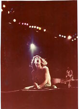 Photo Mick Jagger on stage - The Rolling Stones - 1975 -