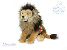 Sitting Lion  Plush Soft Toy Wildcat by Teddy hermann Collection 90457