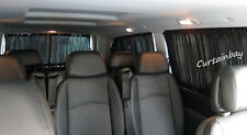 Mercedes Vito Viano (638,639) curtains set for 2 side windows black color