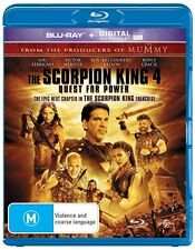 The Scorpion King 4 : Quest For Power : NEW Blu-Ray