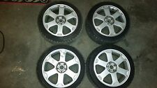 Rims and Snow Tires for 2001 Audi S4