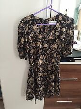 Urban Outfitters Womens Paris Sport Club Floral Dress SIZE SMALL