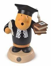 Mueller Traditional German Wooden Smoker Rauchermann Incense Burner Judge