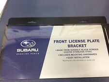 GENUINE OEM Subaru Front License Plate Bracket 2008-2015 Impreza Legacy Forester