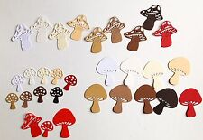 NEW - Cheery Lynn Faerie Toadstool Die-Cuts (Earthy Mix)