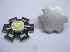 10PCS 3W Cool White High Power LED Bead Emitter 12000K with 20mm Star pcb