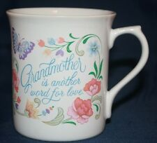1983 Vintage Hallmark Cup Grandmother Is Another Word For Love