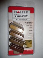 NEW furniture wax repair kit filler for all types of furniture for MEDIUM WOODS