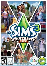The Sims 3 University Life PC Games Windows 10 8 7 Vista XP Computer expansion