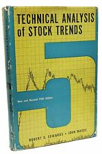 Technical Analysis of Stock Trends Robert Edwards 1967 Fifth Edition Charts Book