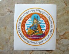 Feng Shui - 2016 Guru Rinpoche Window Amulet Sticker (2 pieces)