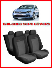 Tailored seat covers for Volkswagen Golf Mk6   2008 - 2013  FULL SET grey2 (205)