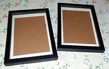 Konvolut 2 größere Bilderrahmen/Tischrahmen   schwarz   INTERIORS 28,5 x 20,5cm