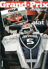 1980 GRAND PRIX INTERNATIONAL MAGAZIN 25 MIKE DOODSEN JONES PIQUET PIRONI