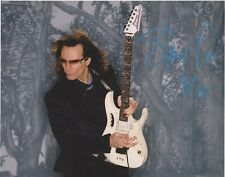 STEVE VAI autographed 8x10 photo...GUITAR LEGEND...DAVID LEE ROTH