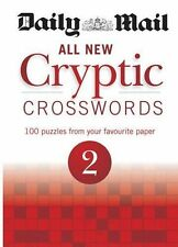 Daily Mail All New Cryptic Crosswords 2 NEW BOOK by Daily Mail (Paperback, 2013)