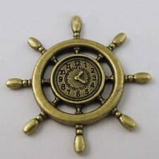 1/12, Dolls House miniature Ships Wheel Clock Fishing New office study etc LGW