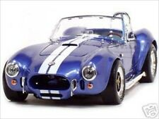1964 SHELBY COBRA 427 S/C BLUE 1:18 DIECAST MODEL CAR BY ROAD SIGNATURE 92058